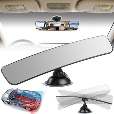 290mm Car Truck Wide Interior Rear View Mirror Camera Suction Stick Rearview