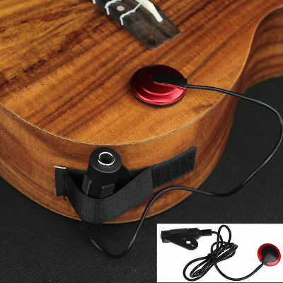 Acoustic Piezo Contact Microphone Pickup for Classical Guitar Violin Mandolin US