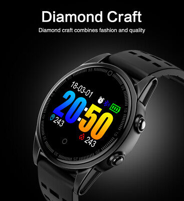 Waterproof Smart Watch Sport Blood Pressure Heart Rate Monitor for iOS Android