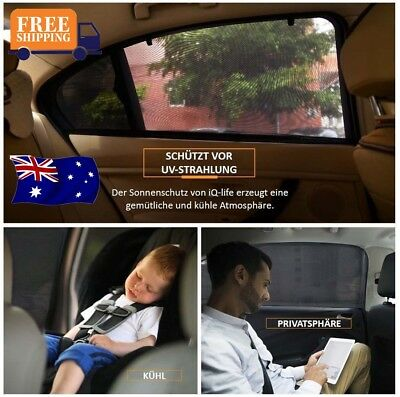 2x Practical Sun Shades Rear Side Seat Car Window Socks for Baby Kids Protection