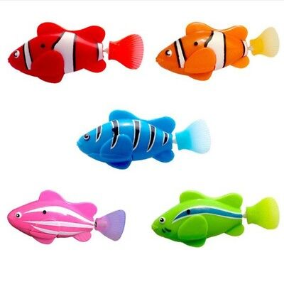 Fashion Swimming Robofish Activated Battery Powered Robot Fish Toy Robotic Fish