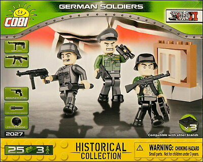 COBI German Soldiers - 3 figurines (2027) - 25 elem.