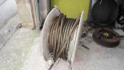 Steel Rope Winch Cable , Tirfor  Approx 50 M  16.2Mm