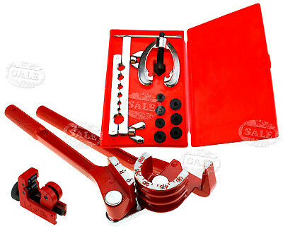 BRAKE FUEL PIPE 3IN1 180° Tube Pipe Bender&Tube Cutter With Flaring Tool Kit