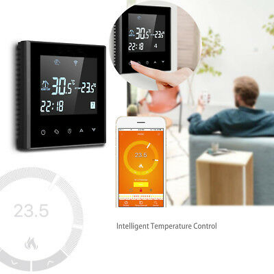 Smart Wifi Funk Thermostat Touch Screen Raumthermostat Digital