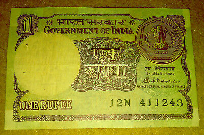 Rare India 1 Rupee Note Coin 1985 Paisa Antique Vintage Old album collection