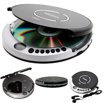 CD Disk Player Portable with Bass Boost Anti-Skip Protection CD-R/RW Compatible