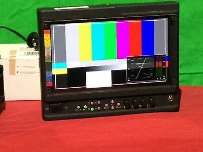 """Marshall V-LCD90MD 9"""" lcd monitor with HDMI and SDI inputs and outputs"""