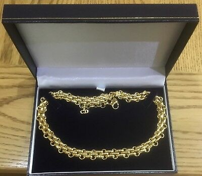 Vintage Christian Dior  chain necklace - gold tone