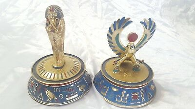 Franklin Mint Egyptian Figurines Limited Edition