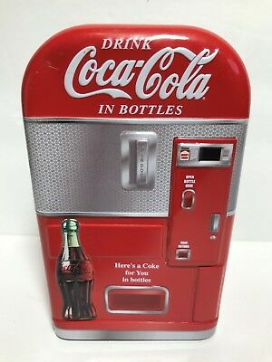 (Please Read) Coca-Cola Vending Machine Bank - Here's A Coke For You In Bottles