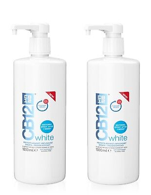 2 x CB12 White 1000ml - 1 Litre (Best Price)