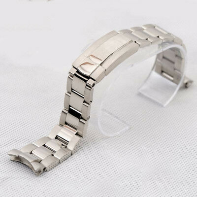 Screwed links Solid Stainless steel strap band bracelet (fits) Rolex OYSTER 20mm