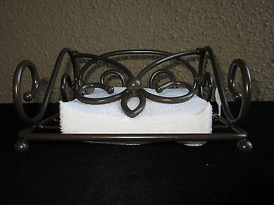 NEW Princess House Meridian Metal Napkin Holder 707