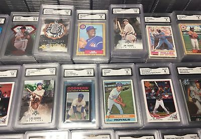 **super Lot Of 4,000 Sports Cards + 4 Graded Cards + Unopened Packs**