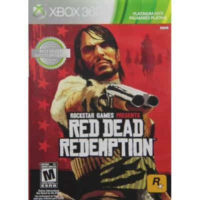 Red Dead Redemption For Xbox 360 Very Good 5E