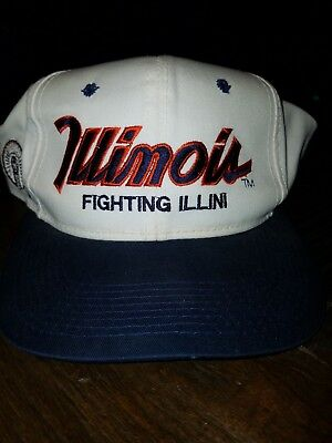 outlet store 831c5 bb165 ... where to buy university of illinois fighting illini vintage hat 704ee  3b6a4 ...
