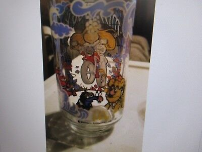 The Great Muppet Caper Glasses, 1981, McDonalds ,Jim Henson ,Lot of 4 Never Used