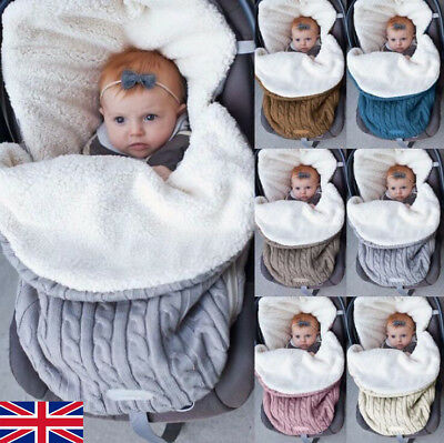 Universal Baby Stroller cosytoes Liner Buggy Padded Luxury Warm Footmuff WOOL UK