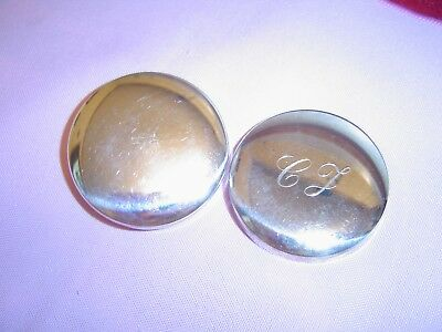 R. Miracoli  800 Silver  Romeo  pill box   holder  snuff case  vintage  no scrap