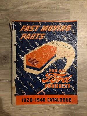 1928-1946 FORD Fast Moving Parts Catalogue