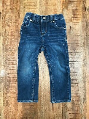 Levis Jeans Toddler Boy Distressed 24 Months