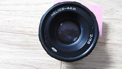 HELIOS-44M 58mm f2 M42 SCREW MOUNT LENS