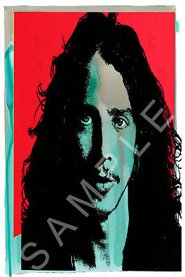 CHRIS CORNELL 12x18 I AM THE HIGHWAY TRIBUTE CONCERT POSTER AUDIOSLAVE VEDDER 2