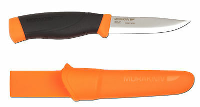 MoraKniv Companion Heavy Duty Knife - Orange
