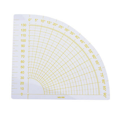 tailor sewing tools quilting patchwork scrapbook circle fan foot seam ruler d Ea