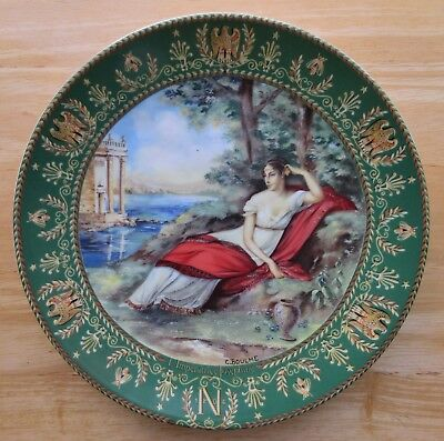 EMPRESS JOSEPHINE D'Arceau Limoges First Edition Collector's Plate ~ Boulme