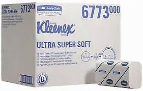 Kleenex 6773 Ultra Super Soft Hand Towels, Airflex, Interfolded, 3ply, 30 packs