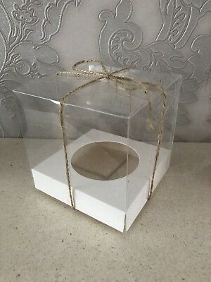 clear single / Individual cupcake boxes (uk)