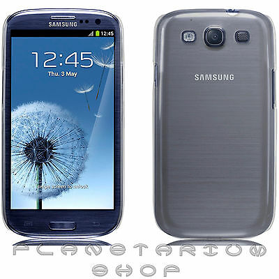Cover hard gel 100% transparent for SAMSUNG Galaxy S3 GT-i9305 SIII