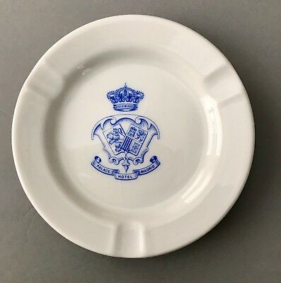 Vintage PALACE HOTEL Madrid Resturant China CIM Crest Ashtray Tip Dish FREE SHIP