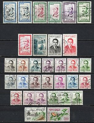 Morocco very nice mixed older era collection ,stamps as per scan(5320)