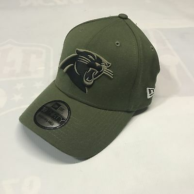 16d80dbce Carolina Panthers New Era 2018 Salute To Service Sideline 39THIRTY Flex Hat