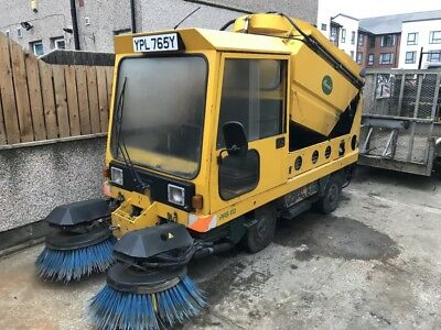 Road Sweeper, Path Sweeper Schmidt, Johnston, Yard Sweeper