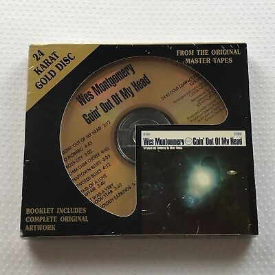 Wes Montgomery – Goin' Out Of My Head - NEW DCC 24kt Gold CD - GZS-1048