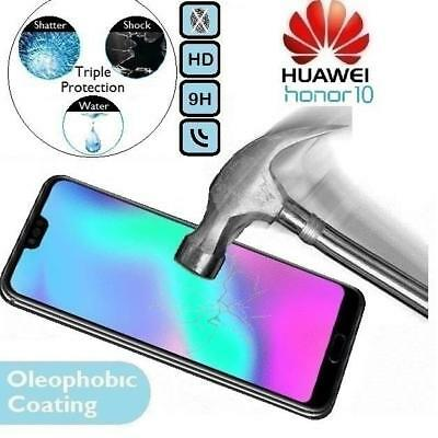 100% Genuine Tempered Glass Screen Protector Honour COL-L29 For Huawei Honor 10