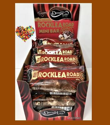 Darrell Lea Rocklea Rocky Road Milk Chocolate 60G X 12