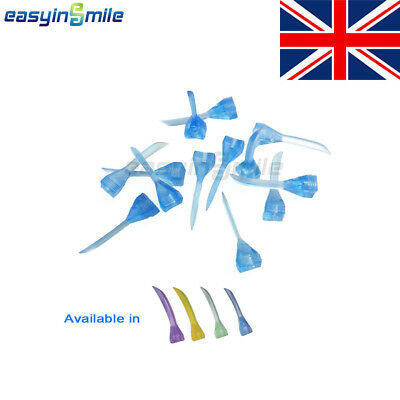 Easyinsmile 100Pcs/BOX Dental Plastic Wedges Diastema 4 Color Available UK STORE