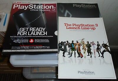 """""""PlayStation Official Magazine UK"""" Special Edition - Issue 001, Winter 2006"""