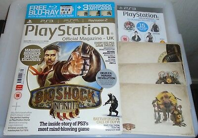 """""""PlayStation Official Magazine UK"""" BioShock Edition - Issue 061, Sept 2011"""