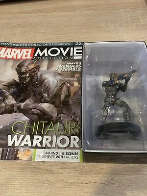 New No Mag Eaglemoss Marvel Movie Collection Figure CHITAURI WARRIOR