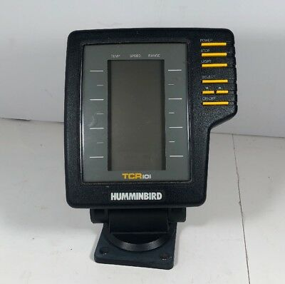 Humminbird Depth Fish Finder Model Tcr 101 Mount Included