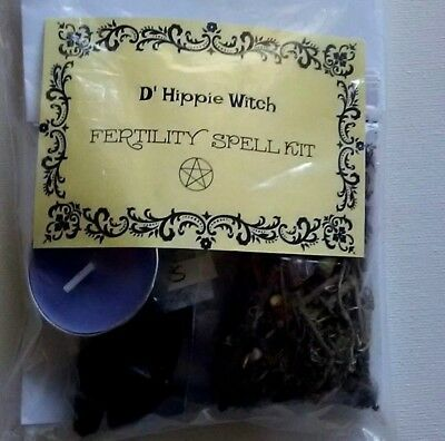 Wicca *FERTILITY SPELL KIT* Pregnancy Witch Spell Kit Rituals Magic Ritual