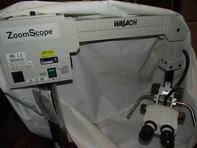 WALLACH ZOOM SCOPE COLPOSCOPE Quantum Series w/NIKON SMZ-1 Surgical Microscope