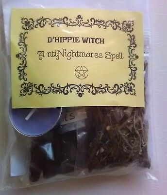 Wicca *ANTI NIGHTMARES SPELL KIT* Witch Spell Kit Rituals Magic Ritual