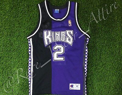 Nba Jersey Sacramento Kings Mitch Richmond Champion Authentic Sz 40 Vtg  Rare  50 7981fd7f9